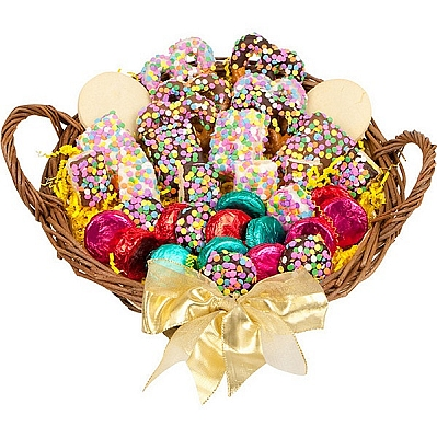 Confetti Celebration Gourmet Gift Basket