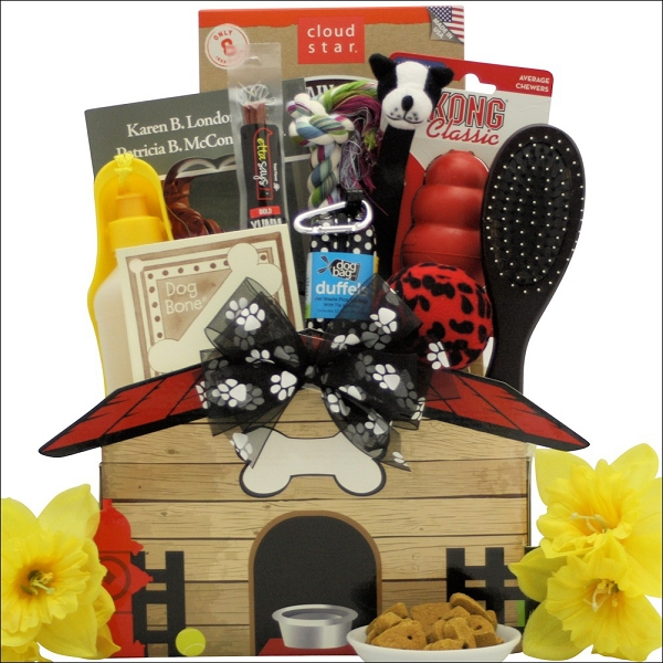 Congrats New Pooch! Pet Dog Gift Basket