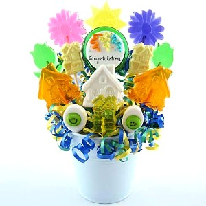Congratulations New Home Lollipop Bouquet