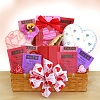 Cookies And Tea Delights Valentine's Day Gift Basket
