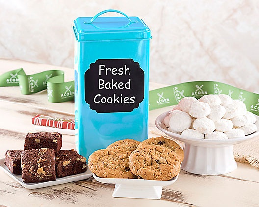 Cookie and Brownie Tin Assortment
