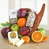 Cornucopia Give Thanks: Fruit Gift Basket