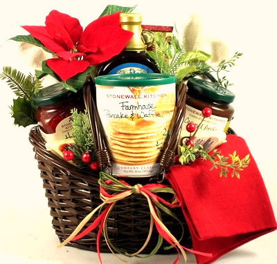 Country Breakfast Christmas Gift Basket