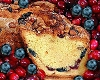 Cranberry & Blueberry Coffee Cake - Kosher