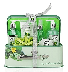 Essence of Cucumber Luxury Spa Gift Basket
