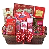 Cupid's Sweets Celebration Gift Basket