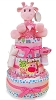 Cutest Giraffe Three Tier Diaper Cake For Baby Girl