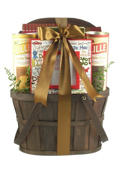 Dad knows Best: A Gift Basket For Father