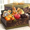 Delectable Fruit And Cheese Gift Box