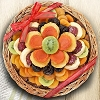 Delightful Bloom Dried Fruit Deluxe Basket