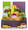 Deluxe  Sampler Fruit Gift Basket