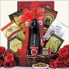 Deluxe Father's Day Gourmet & Wine Gift Basket