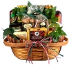 Deluxe Sausage And Cheese Gift Basket