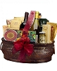 Deluxe Gourmet & Wine Gift Basket - Same Day Delivery
