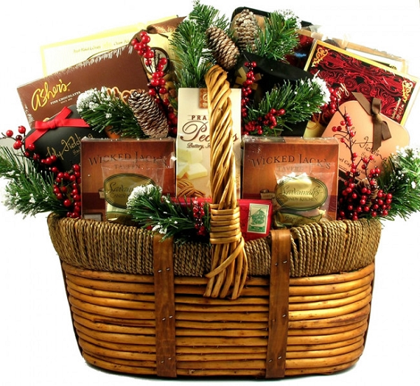 Deluxe Grand Holiday Gourmet Gift Basket