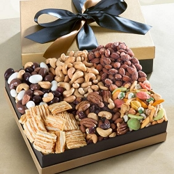 Deluxe Executive Gourmet Snacks Gift Box