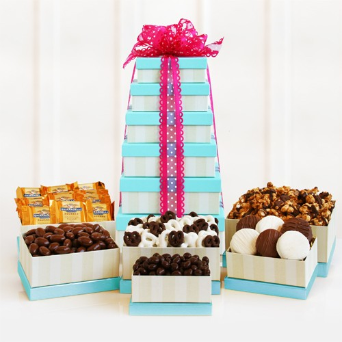 Deluxe Sweet Valentine Gift Tower
