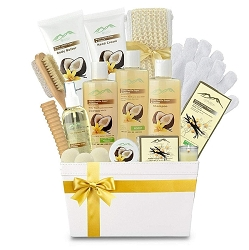 Deluxe Ultimate Bath & Body Spa Gift Basket