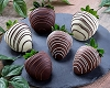 Dipped Chocolate Strawberries: Half Dozen
