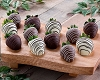 Dozen Gourmet Chocolate Dipped Strawberries