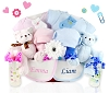 Double The Blessing Twins Baby Gift Basket