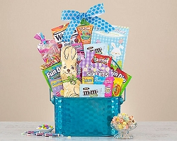 Easter Chocolate Bunny Gift Basket