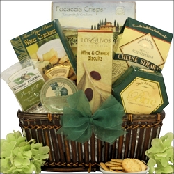 Easter Cheese Delights Gourmet Easter Gift Basket