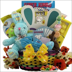 Easter Egg Hunt ~ Boy: Child's Easter Basket