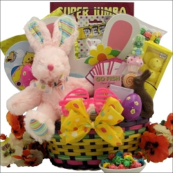 Easter Egg Hunt ~ Girl: Child's Easter Basket