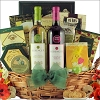 Easter Favorites:Gourmet Duet Easter Wine Gift Basket