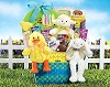 Easter Tradition: Bunny & Friends Gift Basket