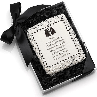 Wedding Edible Cookie Cards
