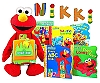 Elmo Sesame Street 40th Anniversary Gift Set Limited Edition