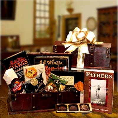 Fathers Are Forever Gift Chest