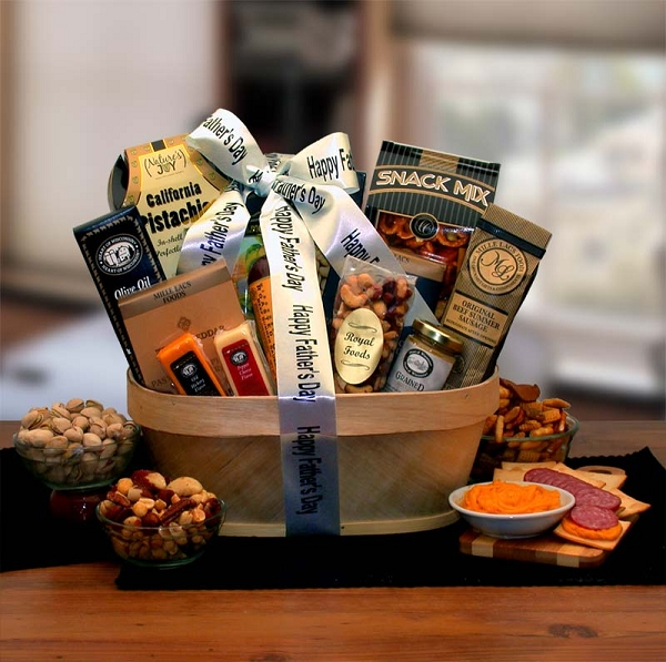 Father's Day Gourmet Food Gift Basket