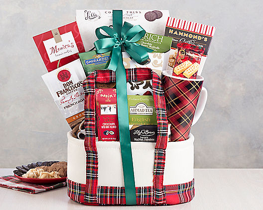 Festive Holiday Surprise Gift Basket