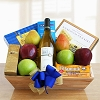 Festive Kosher Wine Gift Basket