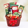 Festive Wishes: Holiday Gourmet & Wine Basket