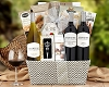 Fine Wines Collection: Cheese and Wine Gift Basket