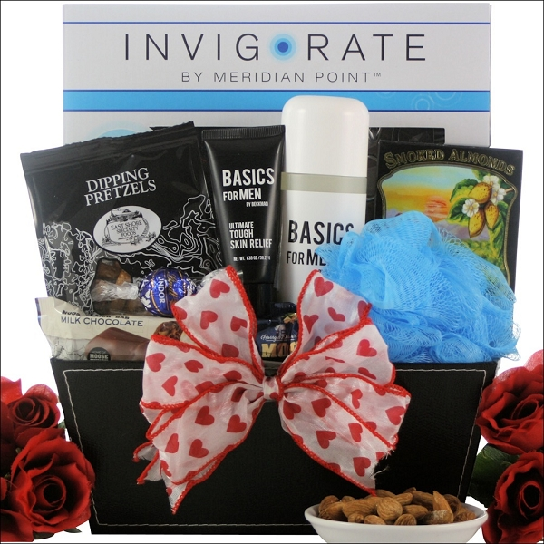 For Men: Valentine's Day Spa Gift Basket