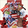 Freedom Patriotic 4th of July Gift Basket