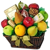 Fresh From The Garden Fruit Gift Basket