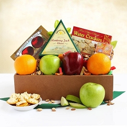 California Dreaming: Fresh Fruit & Gourmet Gift Basket