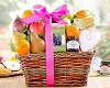 Fresh Fruit and Treats: Spring Gift Basket
