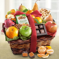 Fresh From The Orchard: Fruit and Gourmet Gift Basket