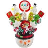 Frosty Christmas: Holiday Candy Bouquet