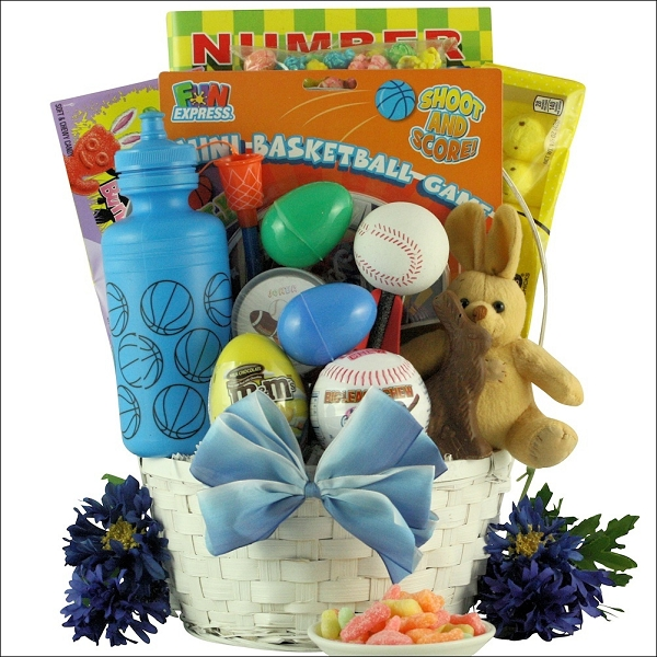 Game & Sports: Easter Gift Basket For Boys