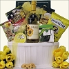 Garden Delights: Wine Gift Basket For Her