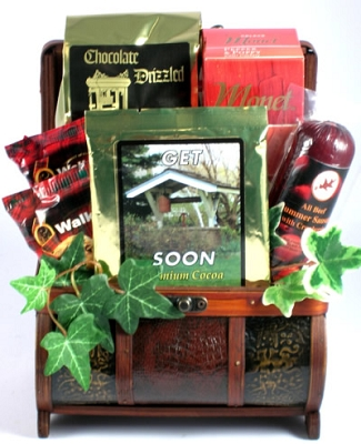 Get Well Keepsake Gift Basket