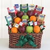 Ghirardelli Festival and Fruit Gift Basket